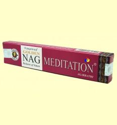 Encens Nag Meditation Agarbathi - Vijayshree - 15 grams