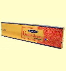 Encens Gold Gleam Agarbatti - Satya - 20 grams