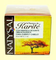 Mantega de Karité ecològica 100% Pura - Natysal - 50 ml