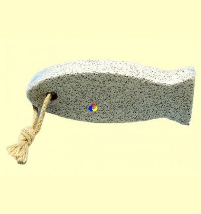 Pedra tosca forma peix - Tierra 3000