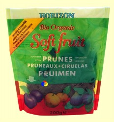 Prunes Sense Os Bio Soft Fruit Horizon - BioSpirit - 200 grams