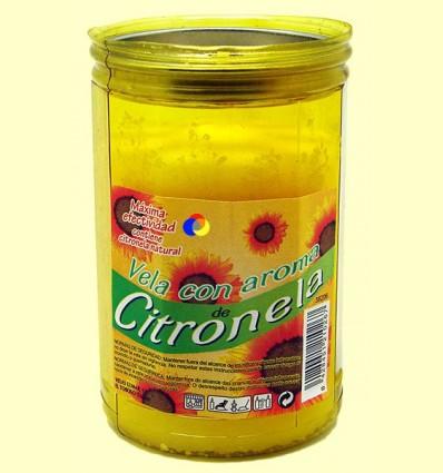 OFERTA-25% - Vela - llumenera amb tapa aroma Citronela