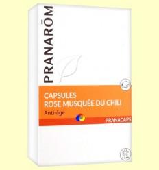 Oli de Rosa Mosqueta - Pranarom - 40 càpsules