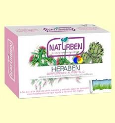 Hepaben - hepatoprotector - Naturben - 60 comprimits