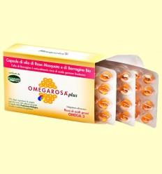 Perles Omegarosa Plus Bio - Italchile - 60 càpsules
