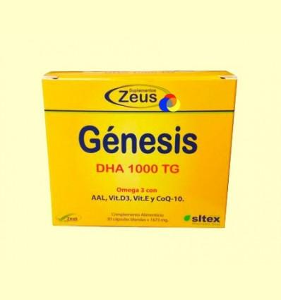 Gènesi DHA 1000 TG Omega-3 - Zeus - 30 càpsules