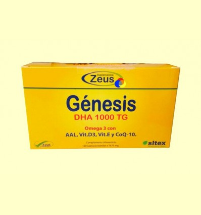 Gènesi DHA 1000 TG Omega-3 - Zeus - 120 càpsules