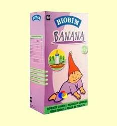 Papilla Banana Bio 6 mesos - BIOBIM - 200 grams