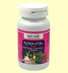 Flora Vital Plus - Probiòtics i Prebiòtics - Klepsanic - 60 càpsules