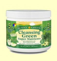 Cleansing Green Super Nutrients - Sunny Green - 166 grams