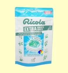 Caramels Ricola Extra Fort Menta Glacera - Ricola - 61 grams