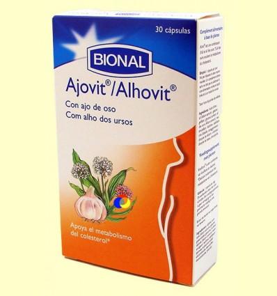 Ajovit - Circulació - Bional - 30 càpsules