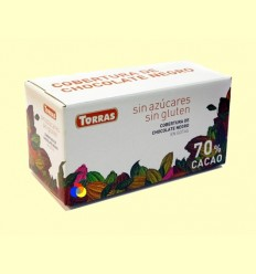 Cobertura de Xocolata Negra en Gotes sense Sucre - Torras - 1000 grams