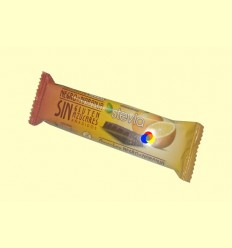 Barreta Xocolata Negre Stevia amb taronja- Torras -35 grams