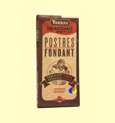 Postres: Xocolata Negre per Fondre sense Sucre - Torras - 200 grams
