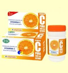 Vitamina C Pura 1000 mg Retard - Laboratoris Esi - 30 comprimits