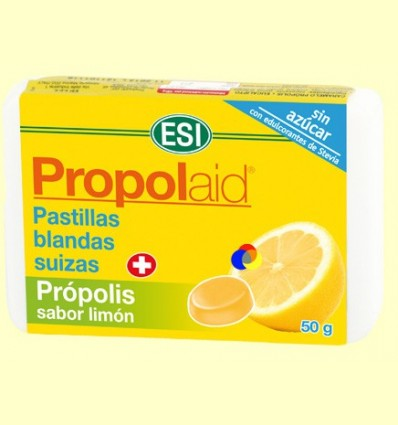 Propolaid Caramels Sabor Llimona - Laboratoris ESI - 50 grams