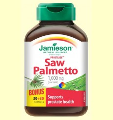 Prostease - Saw Palmetto 125 mg - Jamieson - 30 + 30 càpsules *