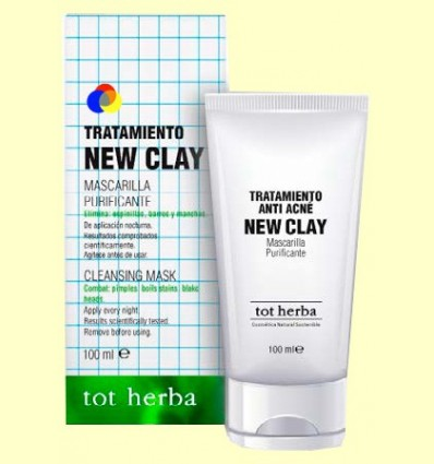 Tractament New Clay Anti acne - Tot herba - 100 ml