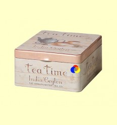 Llauna per Guardar el Te de Quatre Compartiments Tea Time - Cha Cult - 1 unitat