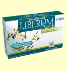 Liberum Forte - Regulador Intestinal - Noefar - 30 comprimits recoberts