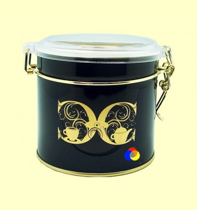 Llauna Rodona Cult per Desar Te o Cafè amb Capacitat per a 80 grams - Cha Cult - 1 unitat