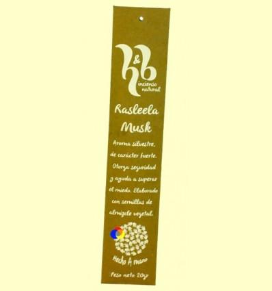 Encens Natural Rasleela Musk - H & B - 20 grams