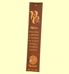 Encens Natural de Mirra - H & B - 15 grams