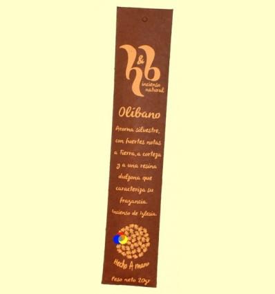 Encens Natural de olíban - H & B - 20 grams