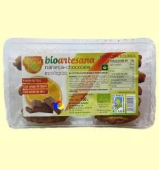 Galetes integrals Ecològiques Amb Taronja i Llavors de Xocolata - El Forn Natural - 130 grams