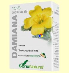 Damiana - Soria Natural - 60 càpsules + *