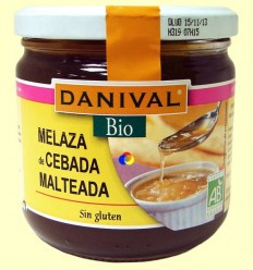 Melassa d'Ordi Malteada Bio - Danival Bio - 460 grams