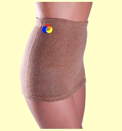 Cinturó lumbar terapèutic de llana de camell 100% - Bohema - Talla XL