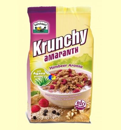 Krunchy de Amaranto amb Gerds i Aronia Bio - Barnhouse - 375 grams