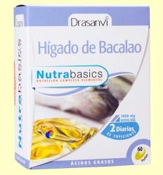 Fetge de bacallà Nutrabasics - Drasanvi - 60 perles