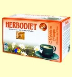 Infusió Herbodiet Modela el teu cos - Novadiet - 20 bossetes filtre