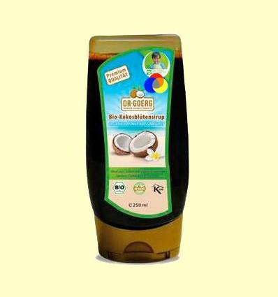 Xarop de Coco Bio - Dr Goerg - 250 ml