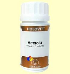 Holovit Acerola - Vitamina C Natural - Equisalud - 50 càpsules