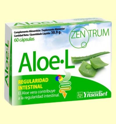 Zentrum Aloe - L - Regulador intestinal - Ynsadiet - 60 càpsules