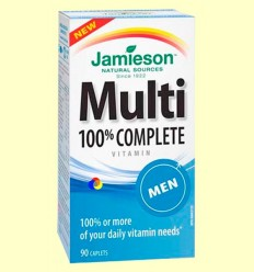 Multi 100% Complete Men - Suplement vitamínic - Jamieson - 90 càpsules