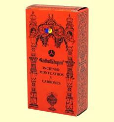 Encens Mont Athos i Carbons - Radhe Shyam - 50 g + 10 unitats