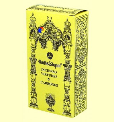 Encens Virtuts i Carbons - Radhe Shyam - 50 g + 10 unitats