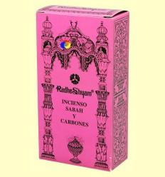 Encens Sabah i Carbons - Radhe Shyam - 50 g + 10 unitats