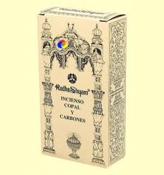 Encens Copal i Carbons - Radhe Shyam - 50 g + 10 unitats