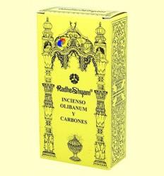 Encens Olibanum i Carbons - Radhe Shyam - 50 g + 10 unitats