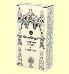 Encens Benjui i Carbons - Radhe Shyam - 50 g + 10 unitats