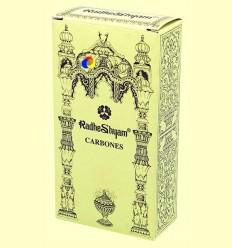 Carbons especials per a encens - Radhe Shyam - 20 u