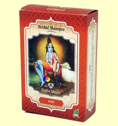Sidr Xampú Herbal - Radhe Shyam - 100 grams
