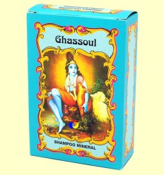 Ghassoul Xampú Mineral - Radhe Shyam - 100 grams