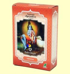 Hibiscus Tractament Capilar Ayurvèdic - Radhe Shyam - 100 grams